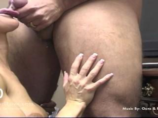 Brandi Love  intr-o compilatie cu ejaculari pe fata si in gura